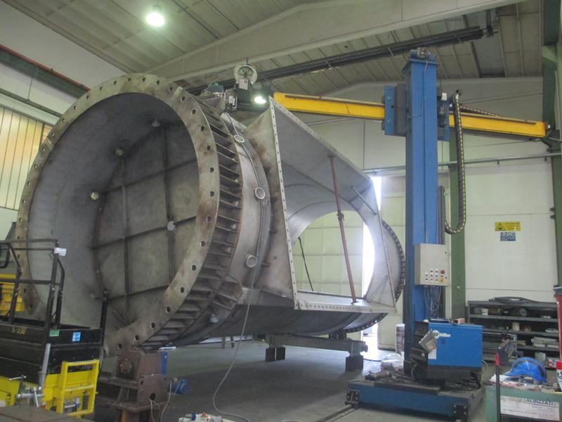 ARCO SOMMERSO dim.Ø4500 x L.12000mm.